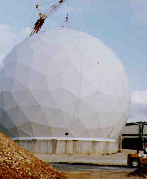 68 ft. Diameter Radome Thin Membrane Wall DSF Radome for the Defense Satellite Communications System (DSCS) Okinawa