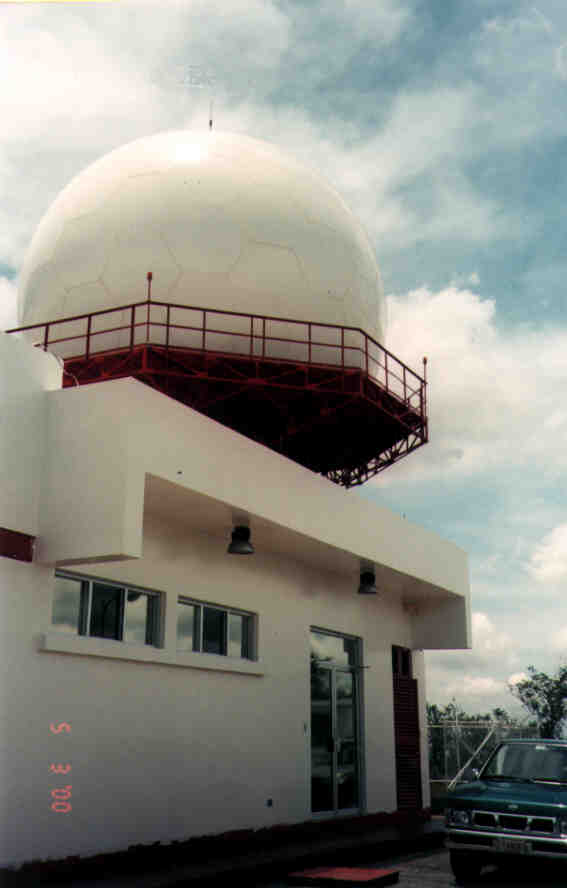 35 ft. Diameter Sandwich Radome for Air Traffic Control