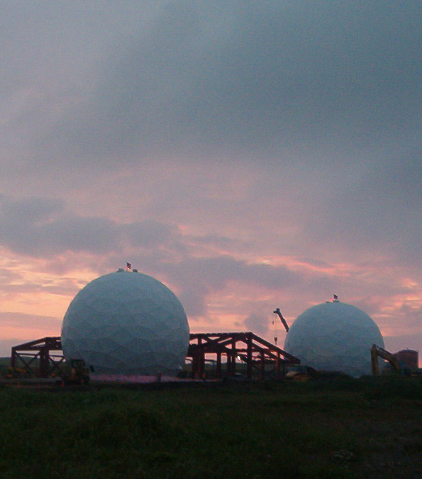 68 ft. Diameter R13 Thermal Insullated Radomes for the Defense Satellite Communications System (DSCS)